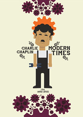 Charlie Chaplin - Modern Times - Contemporary Poster (Stefano Reves) Tags: cinema art film modern illustration 1936 painting movie print poster typography graphicdesign comic employment contemporary minimal desperate charlie charlot libraryofcongress playbill drama moderntimes plakat minimalist alternative plakát masterpiece cartel affiche chaplin charliechaplin 海报 assemblyline locandina unitedartists directed janus industrialization ポスター anunciante paulettegoddard littletramp bigdepression плакат tempimoderni janusfilms culturallysignificant affish annonceur nationalfilmregistry chesterconklin henrybergman society6 affishen אַפיש stanleysandford 2003cannesfilmfestival irahmorgan rolandtotheroh williardnico