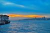 Bosphorus (Ali Enes M) Tags: life city travel sunset sea sun turkey nikon türkiye istanbul traveller 1855 dslr deniz bosphorus hayat boğaz günbatımı güneş yaşam seyahat seyyah şehir alienes d5100