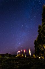 Stars over Wind Mills (Giulio A. D'Angelo) Tags: santa sky night stars ana high nikon costarica long exposure iso 16mm darksky milkyway f20 rokinon astrophotogrphy millwind d5100