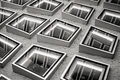 The Window-Roof (Mawoo86) Tags: roof blackandwhite campus frankfurt fenster shapes forms dach westend glas bnw 1x1 quadrat architekt goetheuni