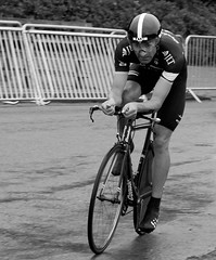 Kristian House (tom_greaves) Tags: blackandwhite house monochrome bike sport corner canon mono cycling time telephoto condor kristian trial tourofbritain rapha timetrial knowsley merseyside jlt knowsleysafaripark individualtimetrial canon400d