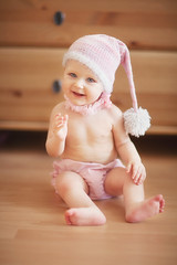 Stephanie (Lucistaya) Tags: pink light portrait baby cute girl smile hat canon amazing haze blueeyes posing lifestyle happiness blond littleone magicmoments tenderness alenamironova