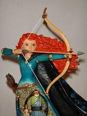 Merida Figurine - A Brave Princess - Disney Traditions By Jim Shore - First Look - Midrange Front View (drj1828) Tags: us princess adventure merida bow cape brave arrow figurine tapestry jimshore disneytraditions