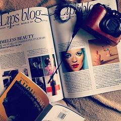 """Stay update with latest creative article written by Rewat Chumnarn, """"Timeless Beauty, The 100 Years of Fashion Photography"""", in new issue of LIPS. บทความสร้างสรรค์เนื้อความหัวเรื่องความงามเเละเเฟชั่นเรื่องใหม่ของ เรวัฒน์ ชำนาญ ว่าด้วยนิทรรศการเเละหนังสือเ"""