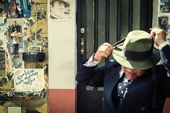 gardelito (DanMasa) Tags: street argentina poster buenosaires carlos tango gardel santelmo tanguero gardelito