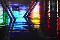 Un arcobaleno come te (♥danars♥) Tags: genova astratto acqua riflessi notte portoantico