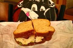 Roast turkey, ranch and bacon Market Fresh sandwich (Morton Fox) Tags: 15fav food de fastfood arbys claymont
