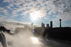 Niagara Falls (William Wilson 1974) Tags: sky sun ontario skyline niagarafalls