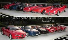 Alfa Romeo Spider Evolution 1:18 (MODEL CAR PASSION) Tags: cars spider italian 2000 small mini spyder di alfa romeo 18 welly giulia 118 giulietta brera diecast seppia maisto minichamps osso ricko duetto autoart arese norev biscione