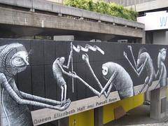 Phlegm graffiti, Southbank (duncan) Tags: streetart graffiti southbank phlegm