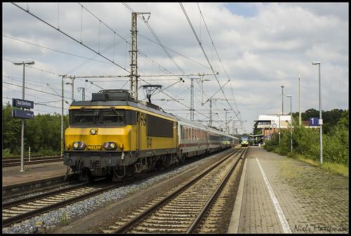 24-05-2014 - 1741 + IC Berlijn 144 in Bad Bentheim