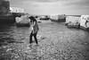 girl in the sea (gorbot.) Tags: blackandwhite rangefinder sicily roberta marzamemi sicilia fishingvillage mmount leicam8 voigtlander28mmultronf19 vscofilm