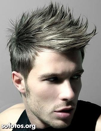 corte de cabelo masculino crista moicano