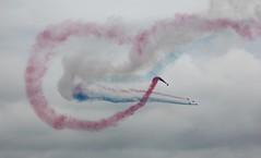 RAF Cosford 2015: Red Arrows 10 (sohvimus) Tags: shropshire hawk airshow twister redarrows rafcosford royalairforce rafat egwc rafcosfordairshow2015