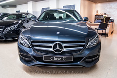 Mercedes-Benz C 220 BT - (205) - Avantgarde - Gris Tenorita - Piel Negra