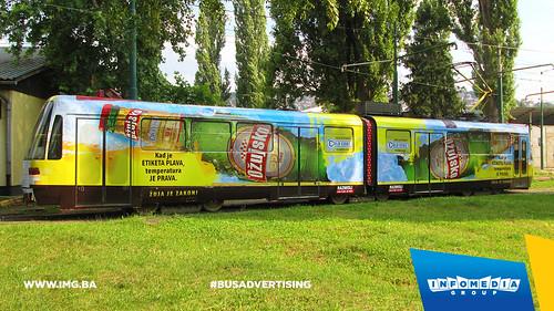 Info Media Group - Ožujsko pivo, BUS Outdoor Advertising, Sarajevo 06-2015 (3)