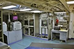 Battleship USS New Jersey - communications center (nutzk) Tags: new philadelphia ship camden room communication jersey battleship uss warship