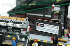 LEGO MOC - Now and Then (WingYew) Tags: heritage lego starbucks modular heritagebuilding moc legoideas legomodular cornermodular helego legostarbucksritage