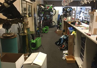 Commercial Store Water Damage
