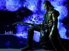 He returned for revenge (Anna_Mai) Tags: actionfigures tomhiddleston loki avengers marvel onesixscale