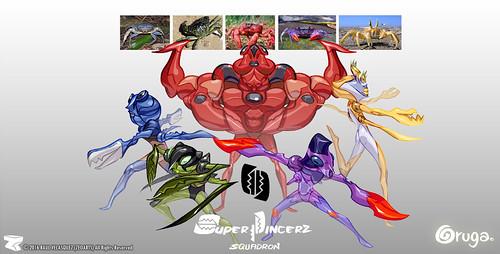 Character designer - illustration 85 | Oruga | Squadrom