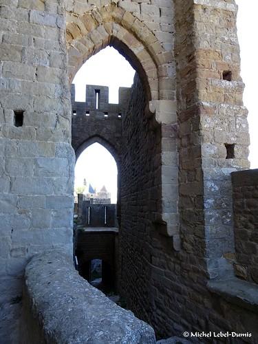 9. Cité Médiévale de Carcassonne, -Rempart gallo-romain nord