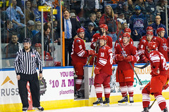 "Missouri Mavericks vs. Allen Americans, March 3, 2017, Silverstein Eye Centers Arena, Independence, Missouri.  Photo: John Howe / Howe Creative Photography • <a style=""font-size:0.8em;"" href=""http://www.flickr.com/photos/134016632@N02/33117917702/"" target=""_blank"">View on Flickr</a>"