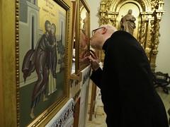 Octavario por la Unidad de los cristianos _ 155 (Iglesia en Valladolid) Tags: parroquiaortodoxadesanjoaquínysantaana capilladelacongregación icono iconos
