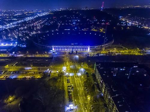 #2k17 #dji #dron #airphotography #dronphotography #Sofia #Bulgaria #night #nightlight #preso #prpphotography #nightout #blue #coloredcity #cityoflife #phantom4 #beautiful #places #icapture_sofia #lights #followme #shared #like #free