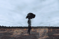 empathy (lauren zaknoun) Tags: surreal surrealphotography conceptual concertphotography dark darkphotography darkart nature fantasy fairytale magic newengland laurenzaknoun storm smoke fire burning witch