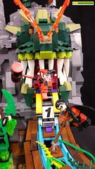 """Lego Super Heroes DC Comics... """"Splash Page"""" - Original MOC by dinosaurtales (dinosaurtales) Tags: lego moc legophotography legominifigures legodc legosuperheroes dc dccomics splashpage justiceleague legojusticeleague legionofdoom superman batman zatanna theflash vsbattle sblugau moceverything"""