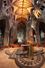 Lichfield Cathedral (Steve J O'Brien) Tags: st lens prime focus shot cathedral know chester than older manual 8mm chads lichfield samyang samyang8mm