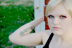 2b (RebeccaLynnPhotography8) Tags: pink portrait female photoshop makeup cannon expressive editing piercings artistry