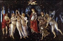 La Primavera de Sandro Botticelli