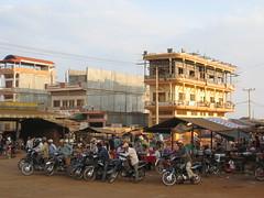 Moto taxi in Ban Lung in Ratanakiri, Cambodia (mbphillips) Tags: cambodia mbphillips canonixus400
