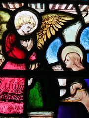 Annunciation (detail) by Hugh Arnold (1910) (Simon_K) Tags: nethergate saxlingham