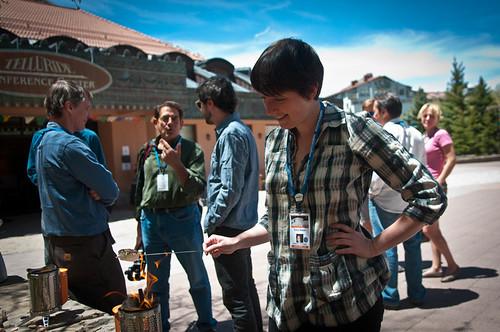 Symposium Ice Cream Social - Photo Credit Melissa Plantz