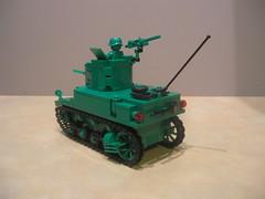 Lego Army Men M3A1 Stuart (Shockblast1) Tags: tank lego wwii stuart armymen m3a1 brickarms legotank brickmania
