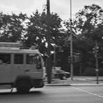 lomography - ambulance