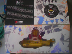 Corgi's Classic Beatles Yellow Submarine. (Jimmy Big Potatoes) Tags: liverpool toys thefabfour memorabilia thebeatles beatlemania