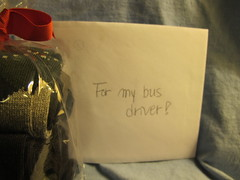 34135 Bus 221 Christmas Presents 2012 (bsabarnowl) Tags: christmas students socks cards virginia presents charlottesville sutherland albemarlecounty 20130127