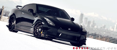 Nissan R35 GTR on DPE CS16 (DPE Wheels) Tags: cars nissan wheels godzilla tuner rims luxury forged concave supercars gtr dpe r35 cs16 dpewheels