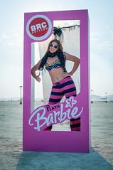 Playa Barbie (Orlando Photo Chic) Tags: art dusty michael desert nevada playa sean burningman blackrockcity brc abi dust burningman2013
