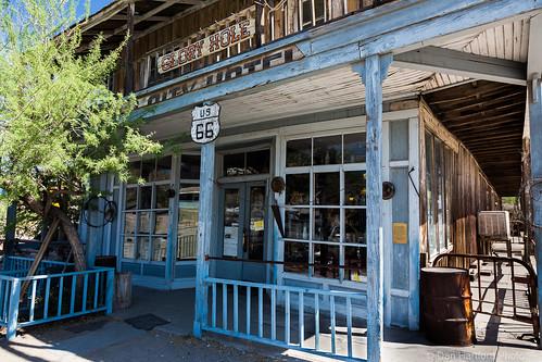 Antique Shop, Old Rt-66, Oatman AZ