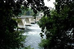 Rheinfall - Switzerland  IMG_0136 (nb-hjwmpa) Tags: river switzerland schaffhausen helvetia brcke rhein brigde schwyz rheinfall brcken