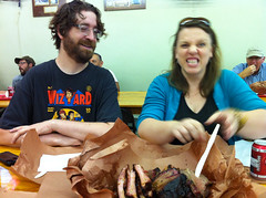 Ari's meat frenzy