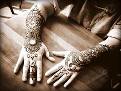 Bakery Hands (B.Bubble) Tags: sepia design hands vermont henna bodyart mehndi adornment