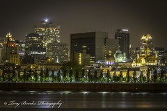Bonne nuit Vieux-Montreal (yeahbouyee) Tags: city longexposure nightphotography urban canada reflection monument skyline architecture night landscape lights lowlight cityscape nightlights quebec montreal landmark lowkey saintlaurent hdr lightroom artificiallight vieuxmontreal saintlawrenceriver canonef28135mmf3556isusm photomatix tonemapped canoneos7d canon7d thechallengefactory