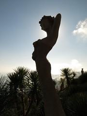 Eze Exotic Garden statue_2203 (WWW.AMYLAUGHINGHOUSE.COM) Tags: cotedazur riviera eze frenchriviera exoticgardens exoticgarden alpesmaritimesfrance