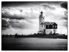 Het Paard van Marken (PortSite) Tags: cloud lighthouse holland netherlands nikon nederland wolken dijk paysbas vuurtoren hdr dike marken landschap eiland portsite 2013 d3s
